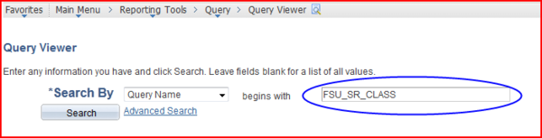Query Viewer screen shot