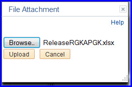 File Attachement dialog with file attached
