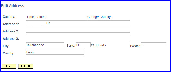 Address Change Form Address Change Form Example Sample Change Forms
